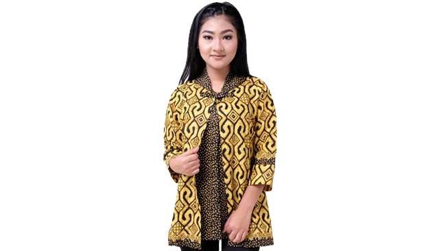 Model Batik Blouse
