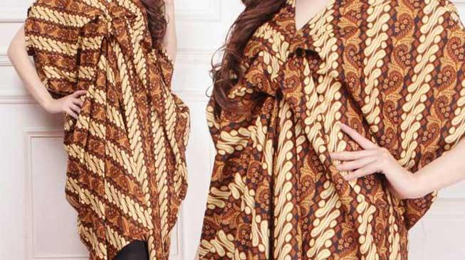 Model Batik Kaftan